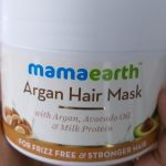Mamaearth Argan Hair Mask-Hair mask for shinier and longer hair-By diya_sanesh
