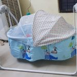 R for Rabbit Lullabies The Auto Swing Baby Cradle-Auto swing baby cradle-By diya_sanesh