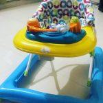R for Rabbit Zig Zag Walker Anti Fall Safe-Zig zag baby walker with antifall brakes-By diya_sanesh