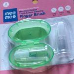 Mee Mee Finger Brush-Mee mee finger brush for oral hygiene-By diya_sanesh