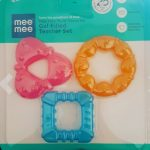 Mee Mee Multi-Textured Gel Filled Teethe-Soft silicone multitextured teether-By diya_sanesh