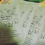 Ancient Living Baby Bath Powder enriched with Organic Ingredients-Organic powder for baby cleansing-By diya_sanesh