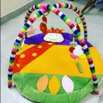 Ole Baby Twist And Fold Tortoise Shape Play Gym-Cute and Cozy play gym for baby-By diya_sanesh