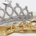 Bembika Rhinestone Tiara Crown-Comes in gold and silver-By sammiya