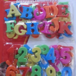 Magnetic Letters & Numbers-Magnetic-By saduf