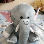 Ultra Elephant Soft Toy-Ultra soft toy in elephant shape-By rjdhan
