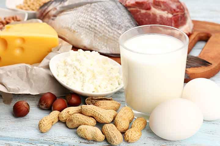 गर्भावस्था में प्रोटीन का महत्व, फायदे व कमी के लक्षण Pregnancy Me Protein