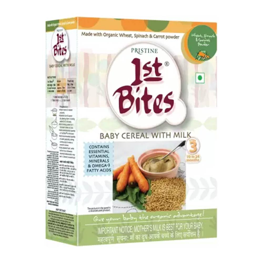 1st Bites Wheat- Spinach & Carrot Powder Cereal