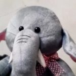 Ultra Elephant Soft Toy-Cute Elephant Toy-By asha27