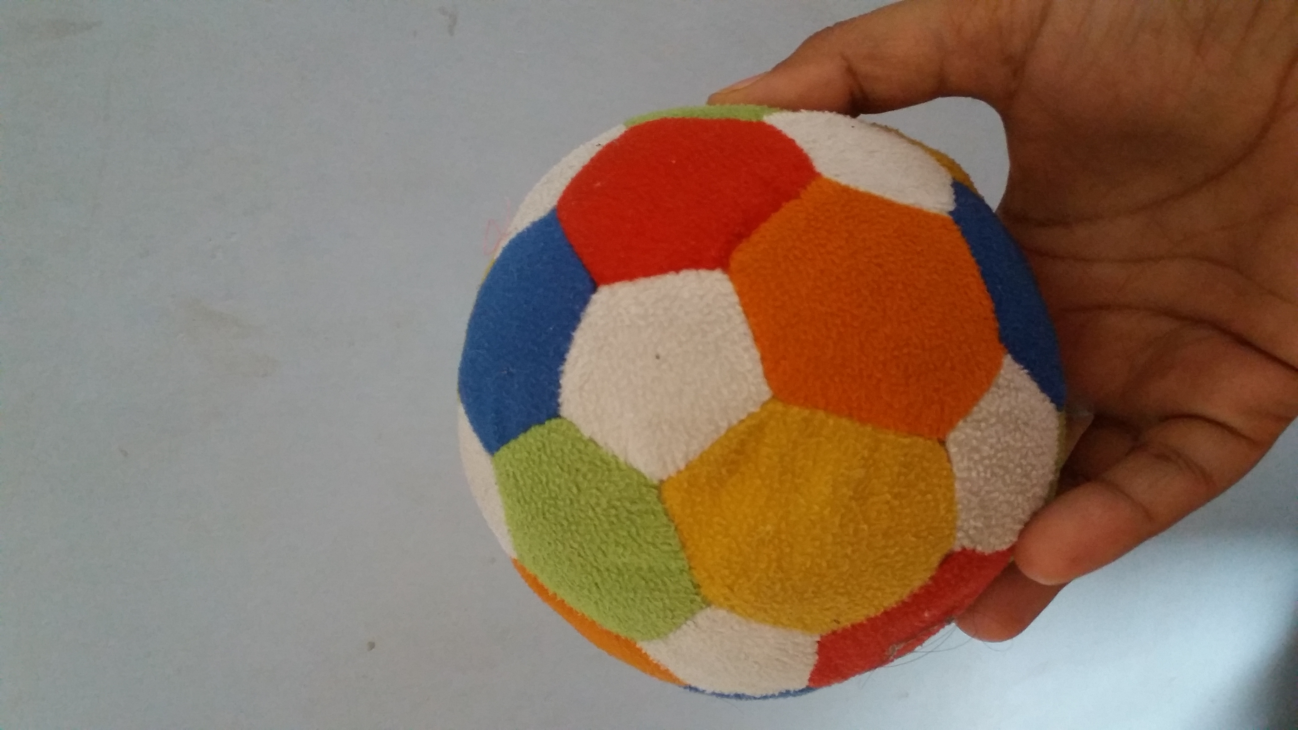 Funzoo Soft Toy Ball-Soft ball that lasts longer than expected-By vandana_ajith
