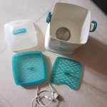 Pigeon Compact Steam Sterilizer  White Blue-Easy to use Sterilizer-By vaishali_1112