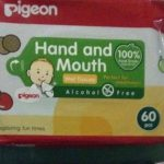 Pigeon Hand and Mouth Wipes-Alcohol Free-By vaishali_1112