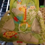 Fisher Price Newborn to Toddler Rocker With Free Diaper Bag-Nice Rocker with free bag-By asha27