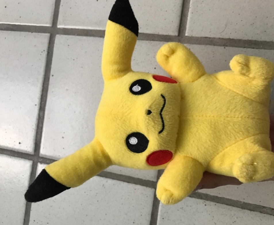 Pokemon Pikachu Plush Toy-Cuddling Pikachu-By asha27