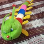 Deals India Colorful Caterpillar And Ball Soft Toy Combo-Cute soft toy combo-By poonam2019