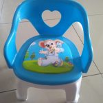 TIED RIBBONS Soft Cushion Plastic Chair for Kids-Strong plastic chair-By asha27