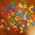Magnetic Letters & Numbers-Educating child in fun way-By poonam2019