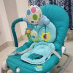 Chicco Balloon Bouncer With Toy Bar-Bouncer to Rocker-By asha27