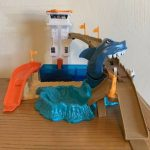 Hot Wheels Color Shifters Sharkport Showdown Playset-Best gift for hotwheels lovers-By asha27