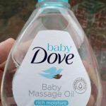 Baby Dove Rich Moisture Massage Oil Hair to Toe-Good massage oil-By sunitarani