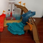 Hot Wheels Color Shifters Sharkport Showdown Playset-Great playset-By poonam2019