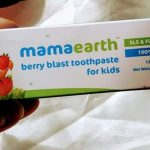 Mamaearth Berry Blast Toothpaste For Kids-Tasty Toothpaste-By vaishali_1112