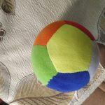 Dimpy Stuff Colorful Soft Ball-Good-By dishaj