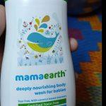 Mamaearth Deeply Nourishing Body Wash For Babies-Nourishing the skin-By asha27