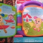 Fisher Price Storybook Rhymes Musical Toy-row row a boat with fisher musical rhyme-By vanajamk