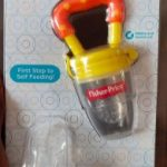 Fisher-Price  Nibbler with Fruit & Veggie Feed Silicone Mesh-easy nibbling-By vanajamk