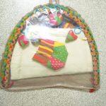 Babyhug I Love Mom Applique Twist N Fold Activity Play Gym-Soft and Attractive Play Mat-By vaishali_1112