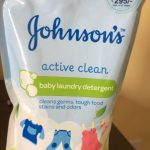 Johnson's Baby Laundry Detergent Active Clean-Mild Fragrance-By poonam2019
