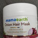 Mamaearth Onion Hair Mask-Good quality product-By sunitarani