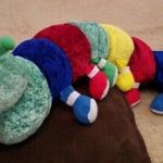 Ultra Caterpillar Soft Toy-Fun Caterpillar soft toy-By poonam2019