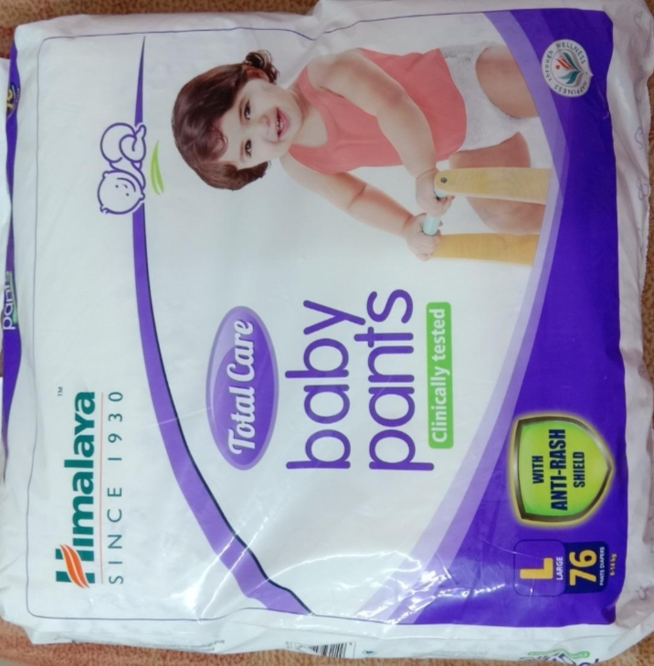 Himalaya Total Care Baby Pants Diapers-Extra care diaper by Himalaya-By asha27