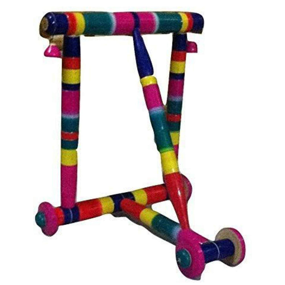 ABOO METALS Wooden Baby Walker
