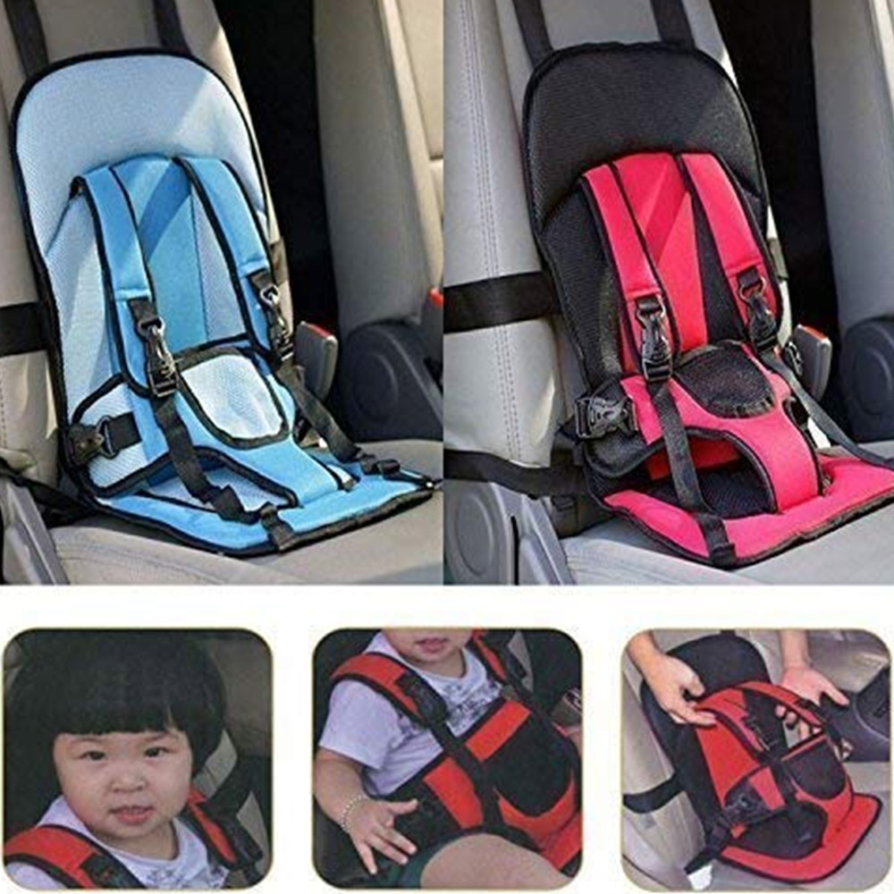 AJB Multi-Functional Baby Car Seat Cushion with Safety Belt