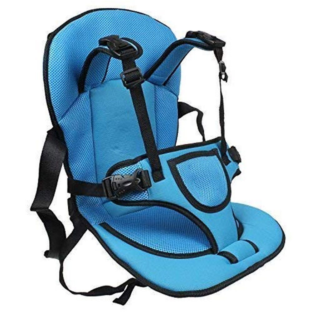 Allium® Adjustable Car Cushion Seat with Safety Belt for Baby