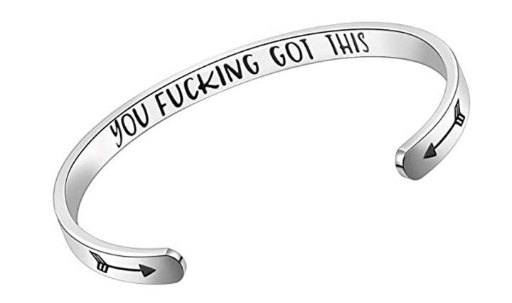 BESTTERN Inspirational Bracelet Cuff Bangle