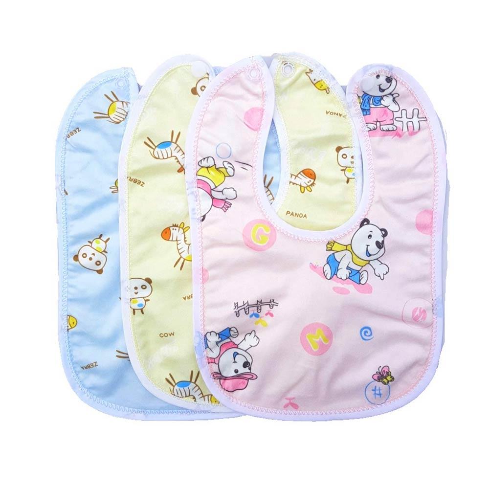 BRANDONN Newborns Premium Baby Cotton Bibs