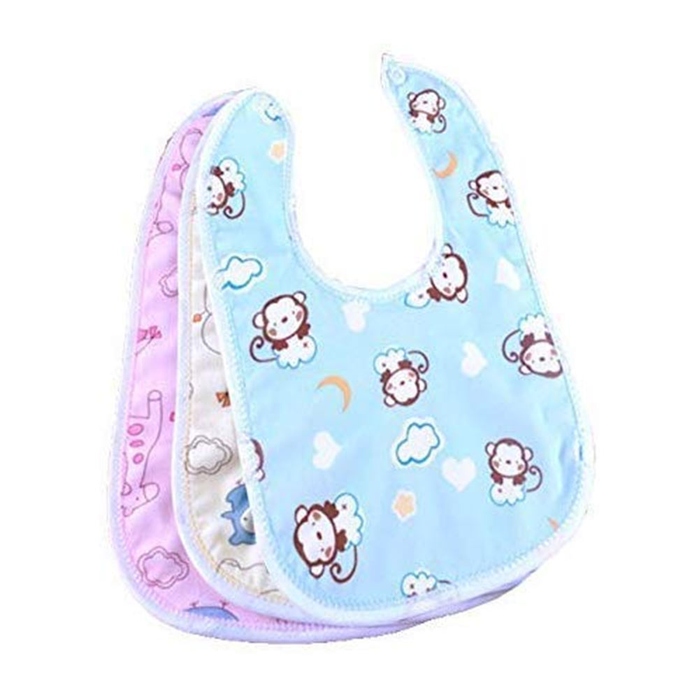 BRANDONN Newborns Premium Baby Cotton Bibs