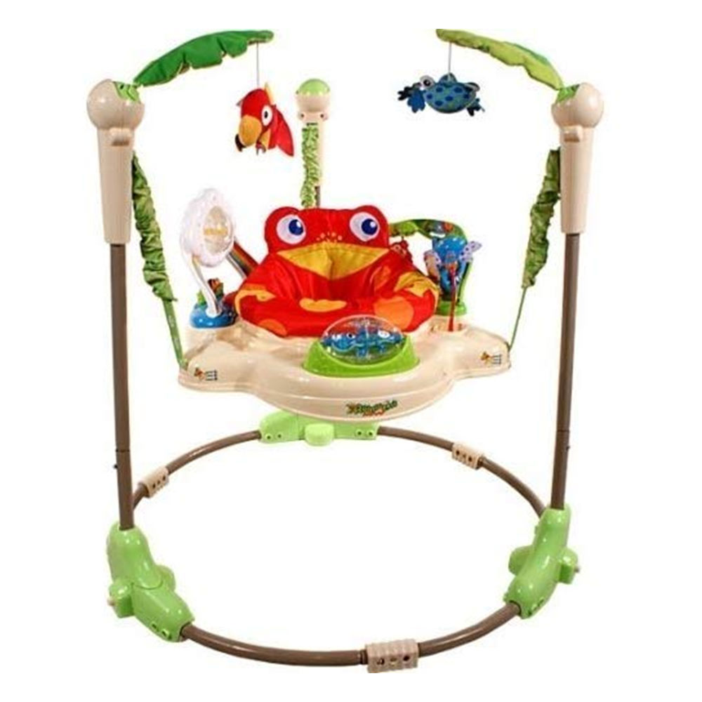 Baby Bucket Jumperoo With Music And Light - Multi Color