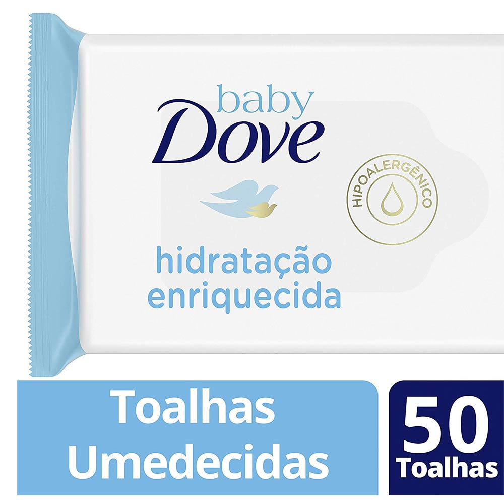 Baby Dove Baby Wipes Rich Moisture