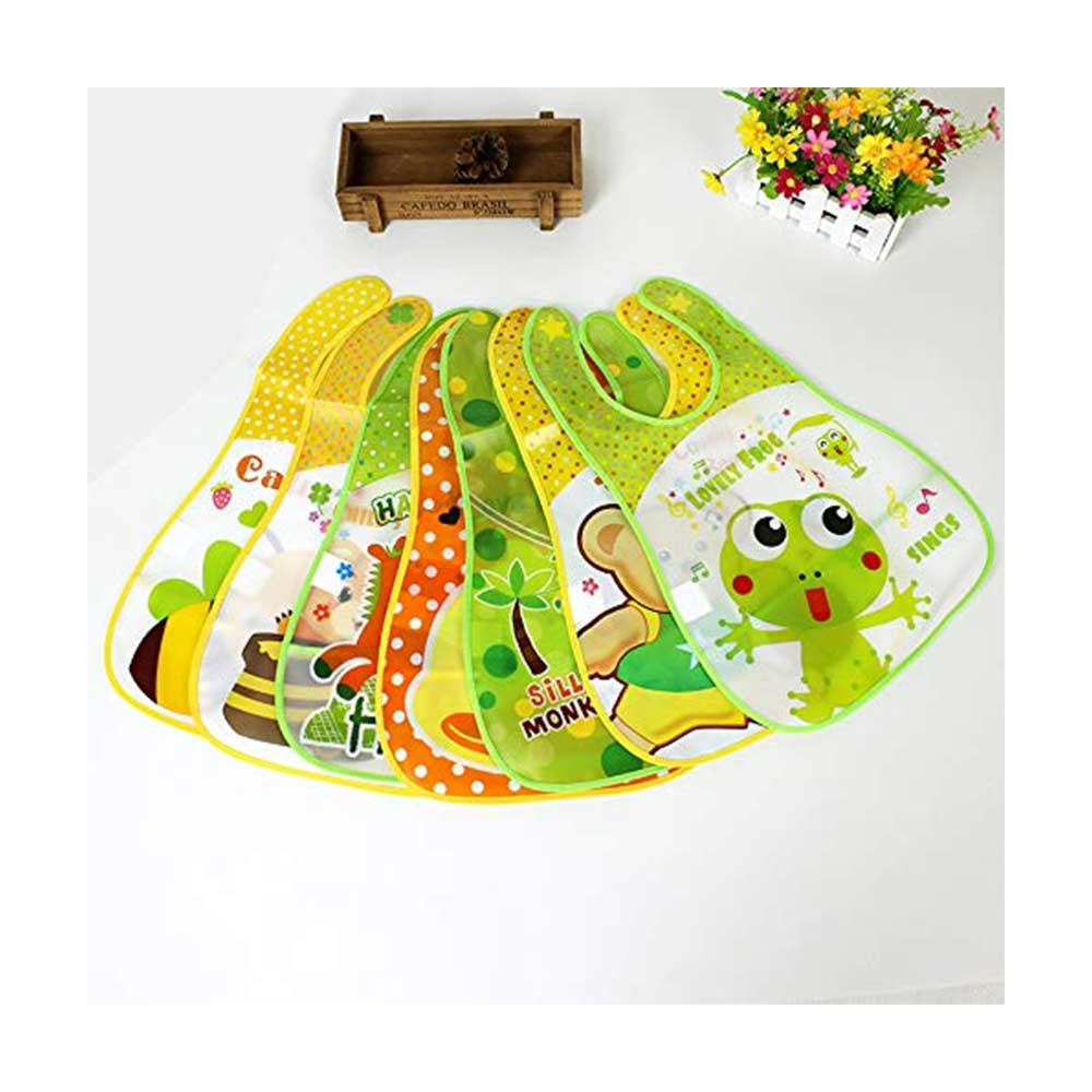 Baby Grow Waterproof Feeding Bibs