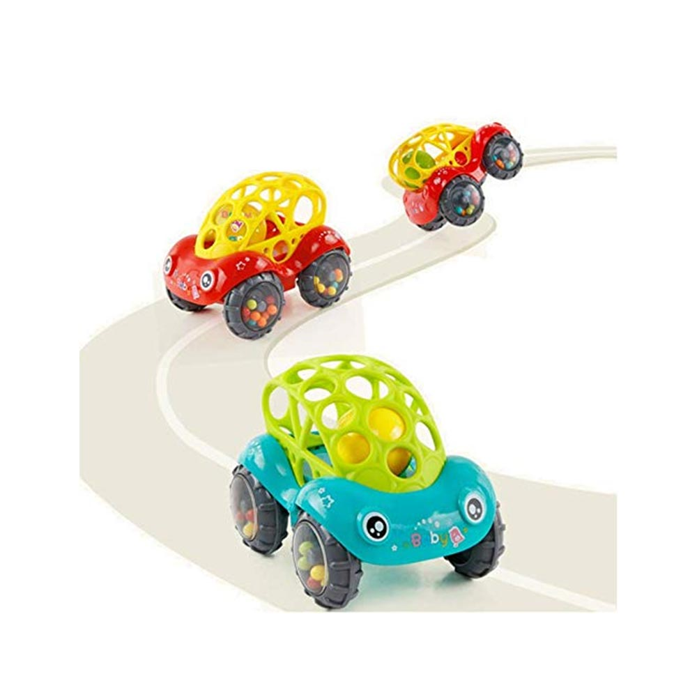 BabyGo Rattle Cum Teether Toy Car for Babies Infants