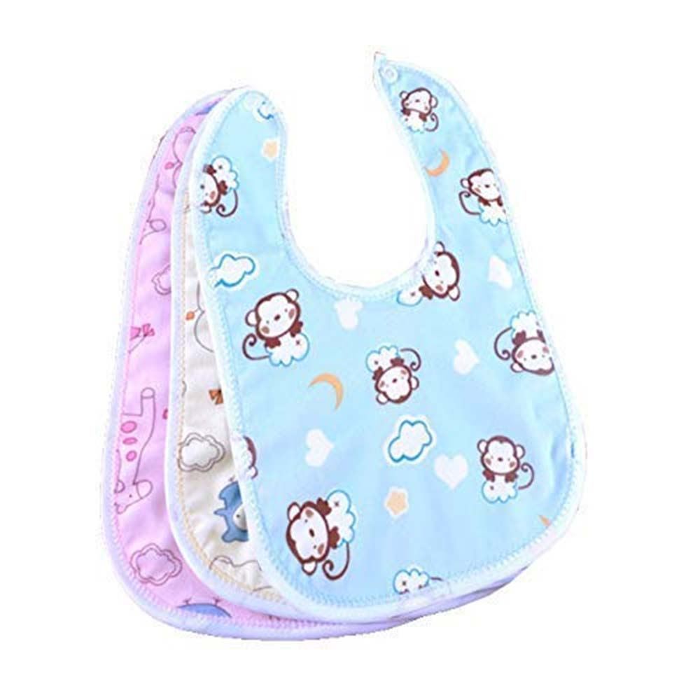 Babygo Waterproof Baby Apron with Bib