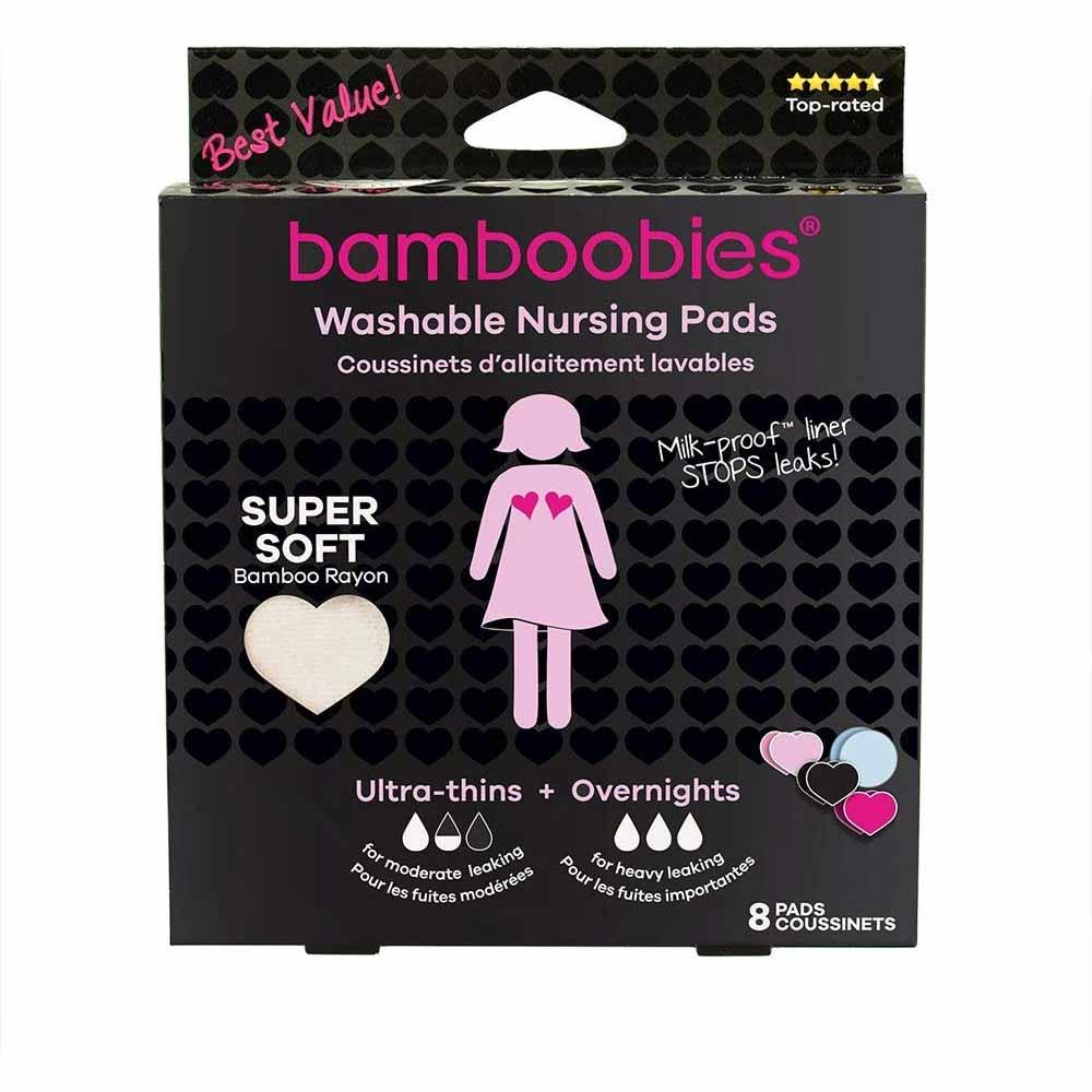 Bamboobies Super Soft Washable Nursing Pads