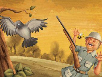 कबूतर और मधुमक्खी की कहानी | Bee And Dove Story In Hindi