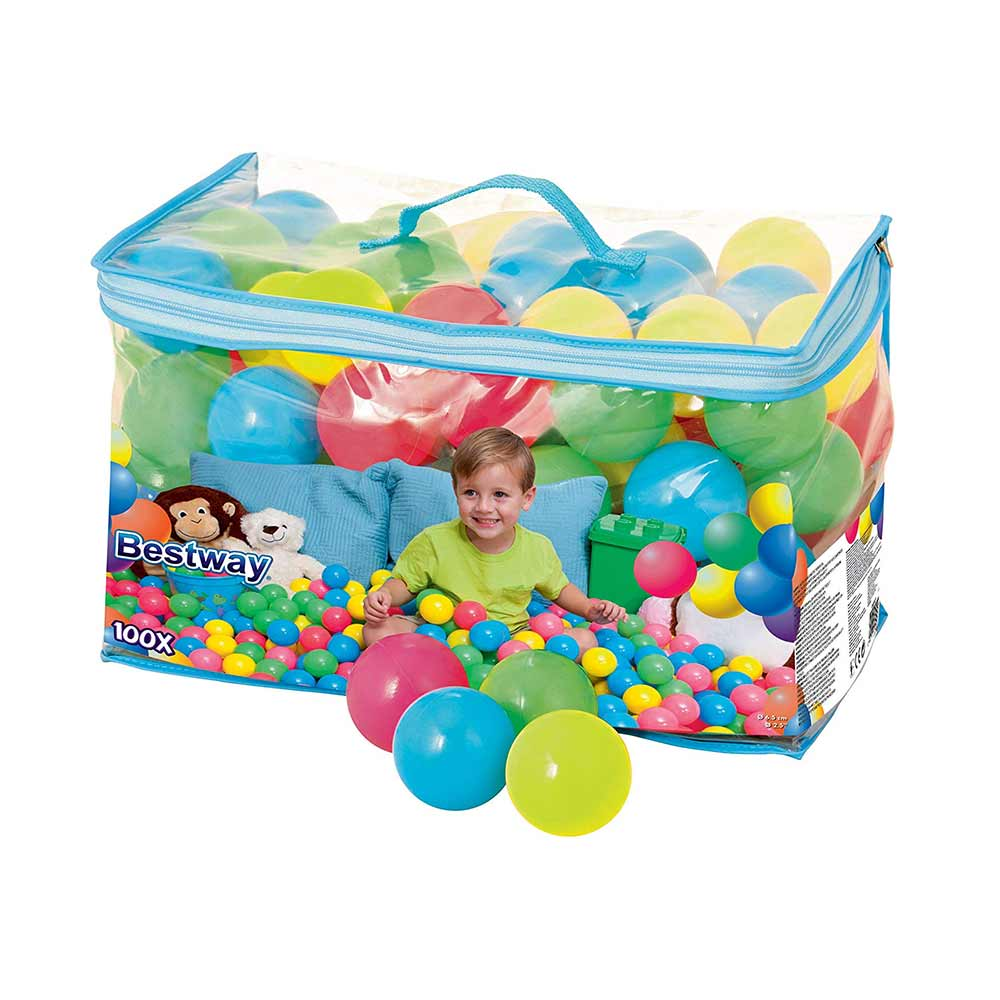 Bestway Splash and Play 100 Bouncing Balls