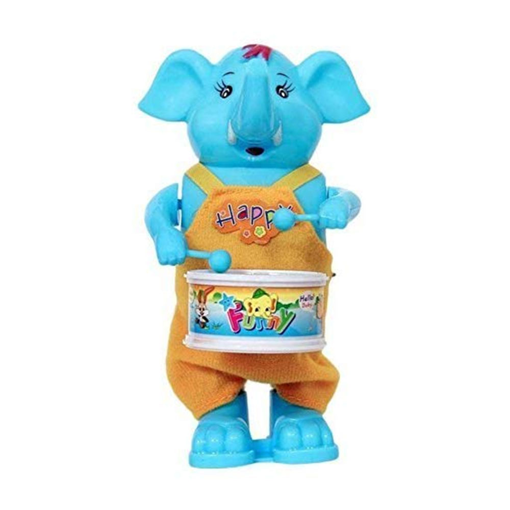Blossom Elephant Drummer Toy